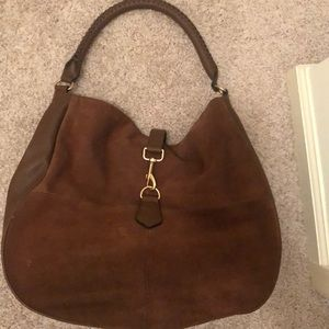 H&M brown satchel bag